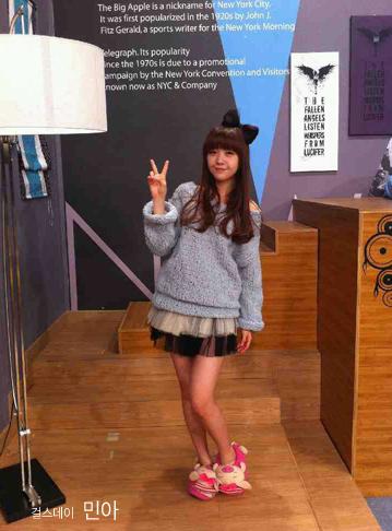 [صورة] Minah عضوة Girls Day تعرض لماركة Rosebullet .!!! Minahsp